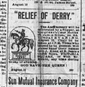Orange ad, Montreal Herald, 10 August 1871, page 3.