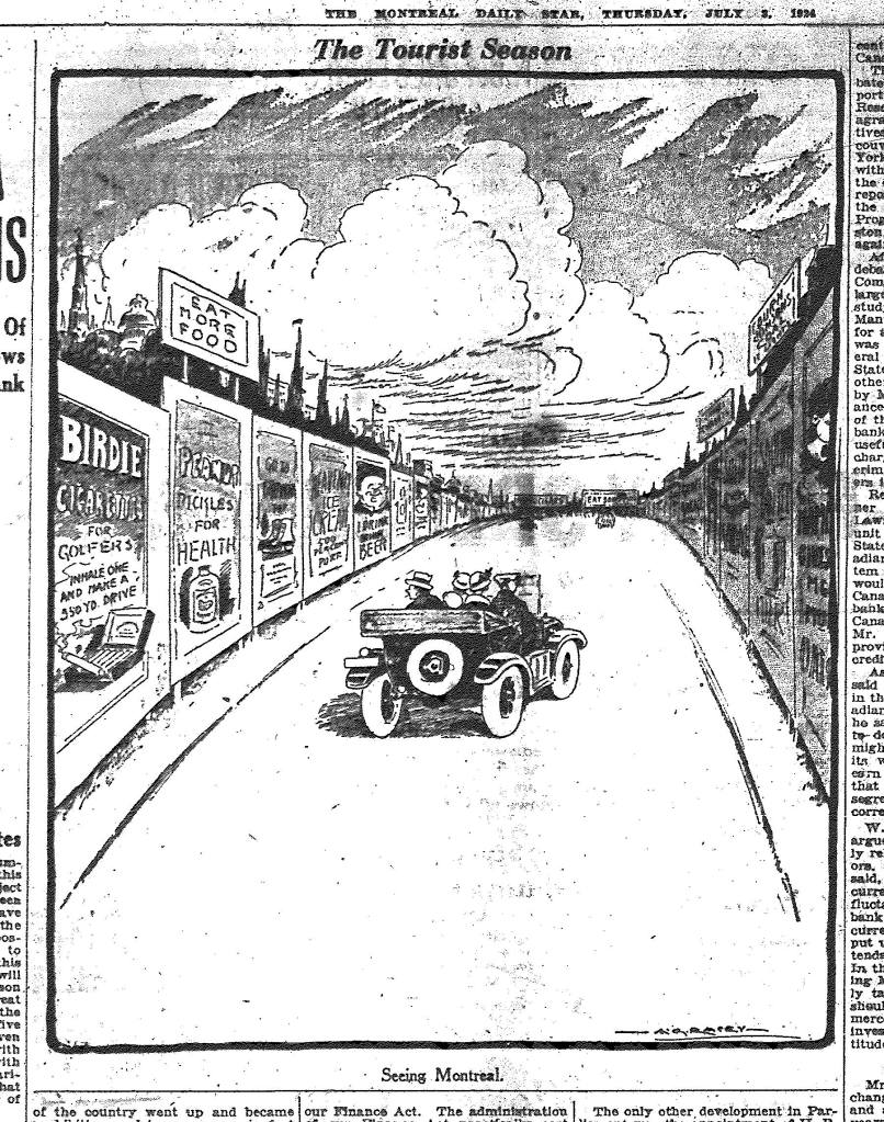 Montreal Daily Star, 3 July 1924, page 4.