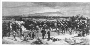 Curling on the St. Lawrence, 1878, c. McCord Museum of Canadian History, Notman collection