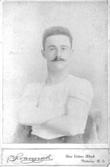 Ernest Alfred Paulin, circa 1890, c. G Leitch