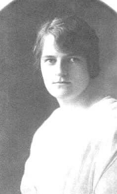 Irene Corley, circa 1921, c. G Leitch