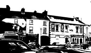 Corley Hotel on Swinford's main street, 2008