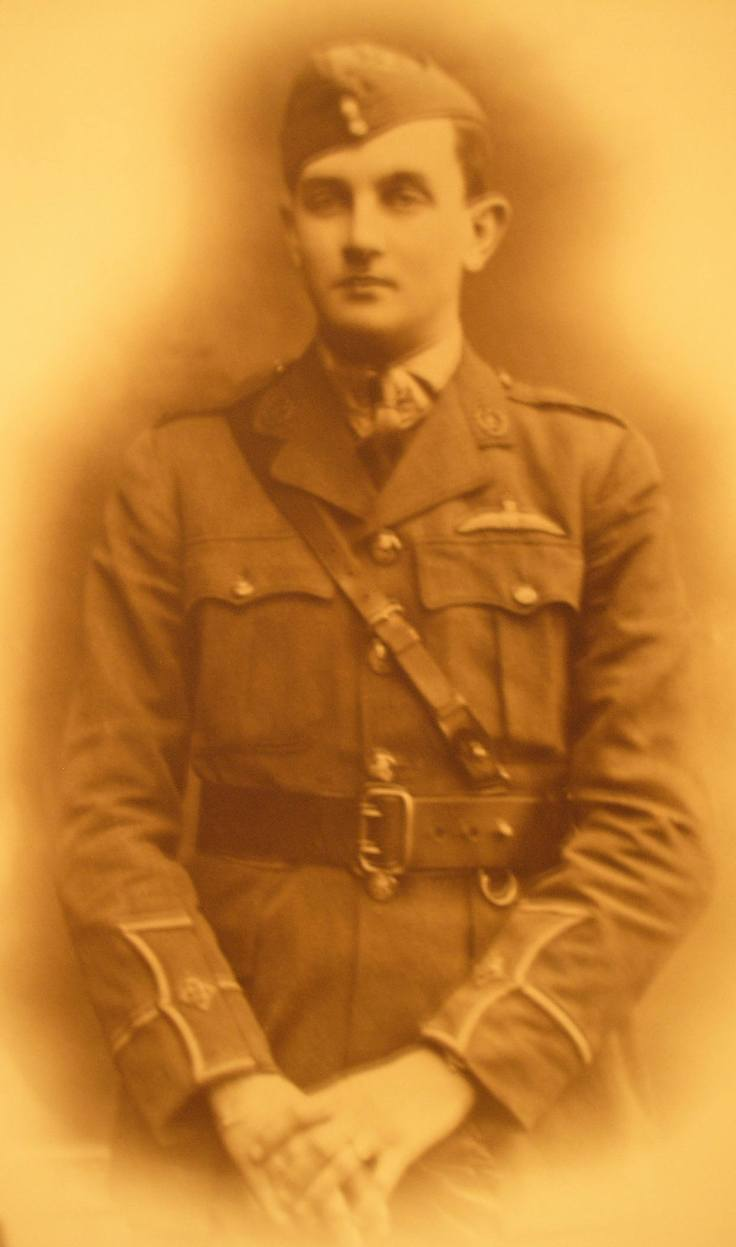 Victor Reginal Pauline, Royal Air Force, 1918.  c. Kathleen Paulin