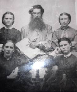 James Leitch and family, Canada, c 1850