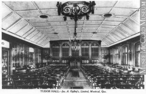 Tudor Hall- James A Ogilvy's, 1928 McCord Museum of Canadian History 94006004