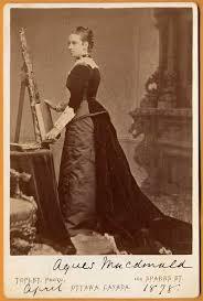 Agnes Macdonald nee Bernard