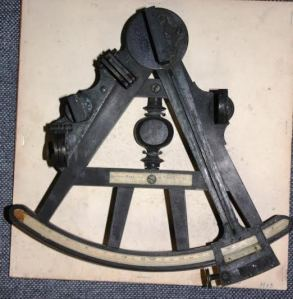 Capt John Leitch Sextant, c. Royal Military College Museum, Kingston, ON