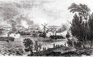 Battle of Windmill Point, contemporary image, Wikipedia