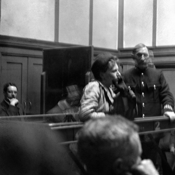 British Politics - The Suffragettes - Trials - London - 1914
