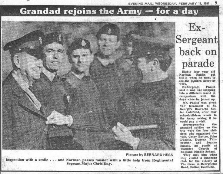 grandad army article
