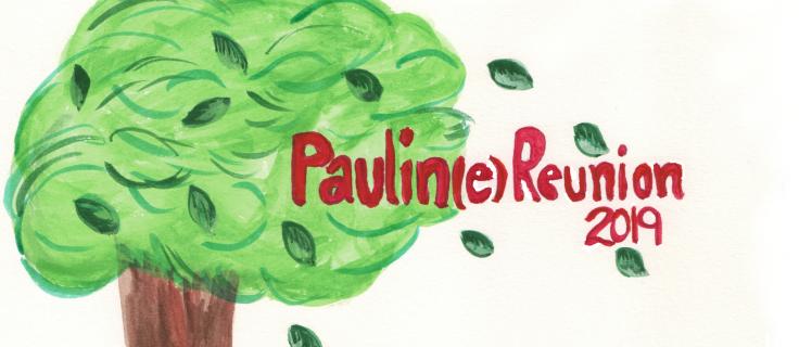 Paulin Family Reunion Logo - long for page